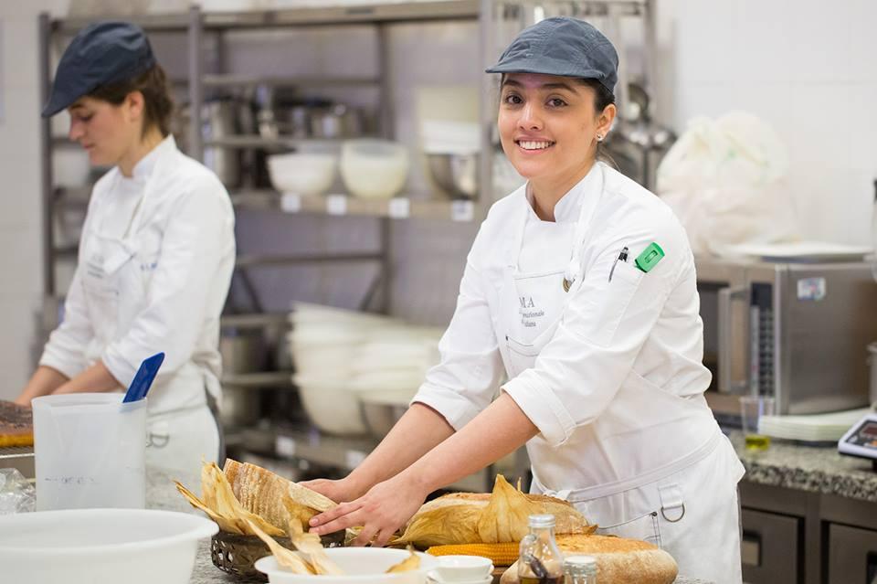 Una mexicana es la mejor estudiante en escuela de cocina italiana diario 400 voces - Curso de cocina italiana madrid ...
