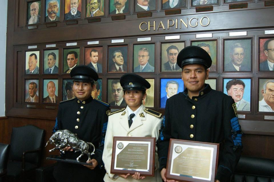 Banda de Guerra Toros Salvajes de Chapingo, obtiene medalla de ...